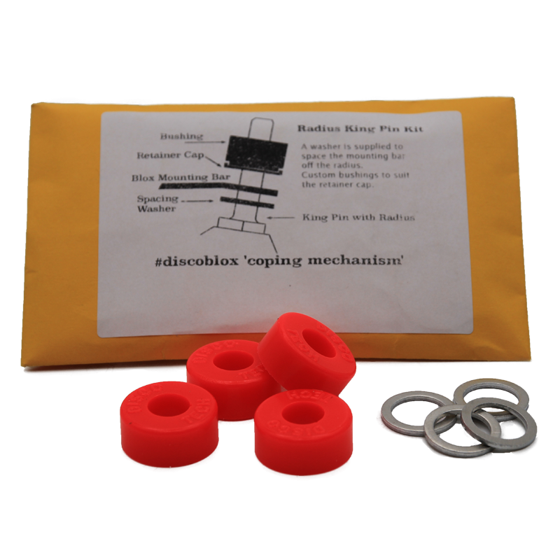 Discoblox Radius Kingpin Kit