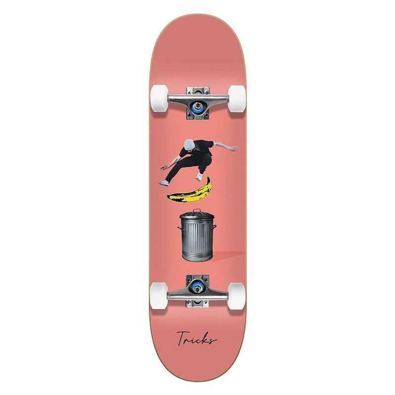 "Tricks Banana 7.75"" Skateboard"