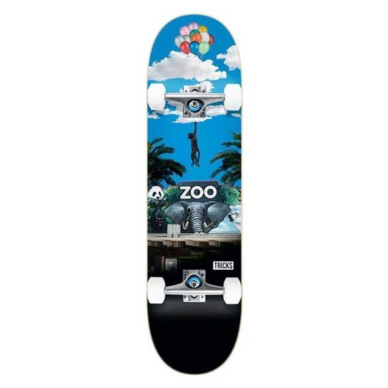 "Tricks Zoo 7.375"" Skateboard"