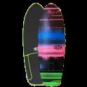 "Carver Triton Nitron 28"" Surfskate Deck"