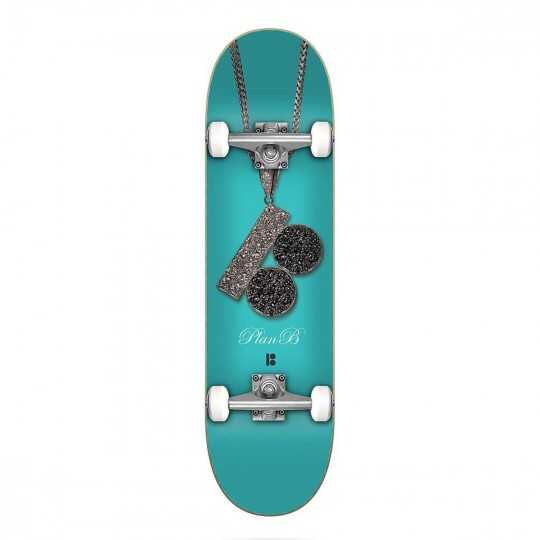 "Plan B Team Chain 8"" Skateboard"