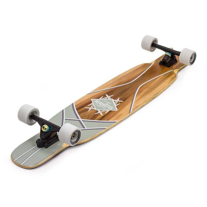 TTBF Longboard Adulte de Planche de Danse de Longboard Skateboard pour Enfants /à Double d/éformation Professionnel d/ébutant Planche de Bois d/érable de Fantaisie Sept Couches