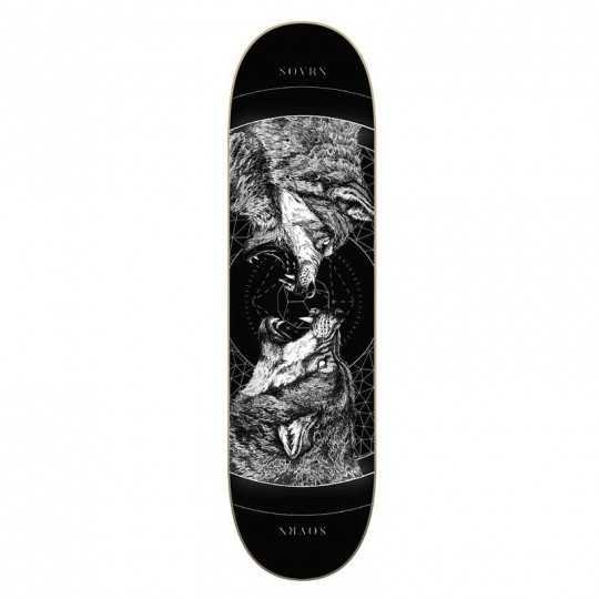"SOVRN Geri & Freki B 8.25"" Skateboard Deck"