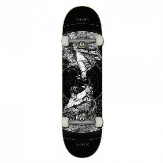 "SOVRN Geri & Freki B 8.25"" Skateboard"