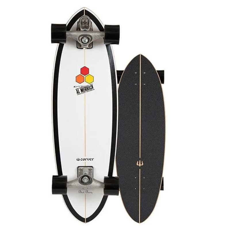 "Carver Channel Islands Black Beauty 31.75"" C7 Surfskate"