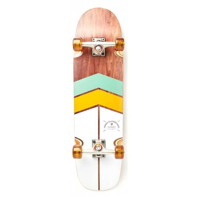 "Arbor Cucharon 32"" Foundation Complete Skateboard"