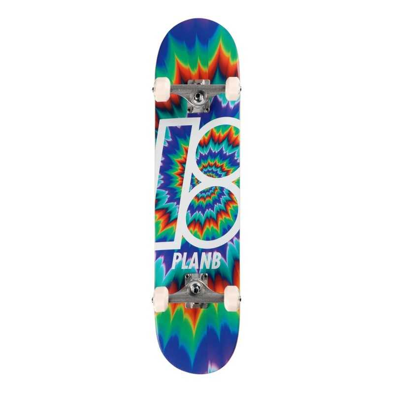 "Plan B Team Tune Out 7.75"" Skateboard Complet"