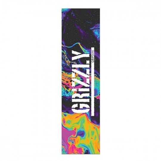 "Grizzly Oil Slick 9""x33"" Skateboard Griptape"