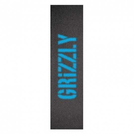 "Grizzly Blurry Blue 9""x33"" Skateboard Griptape"