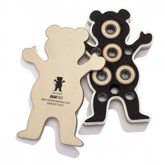 Grizzly Bear-ings Abec 7 Gold Roulements Skateboard
