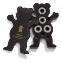 Grizzly Bear/ings Abec 9 Black Skateboard Bearings