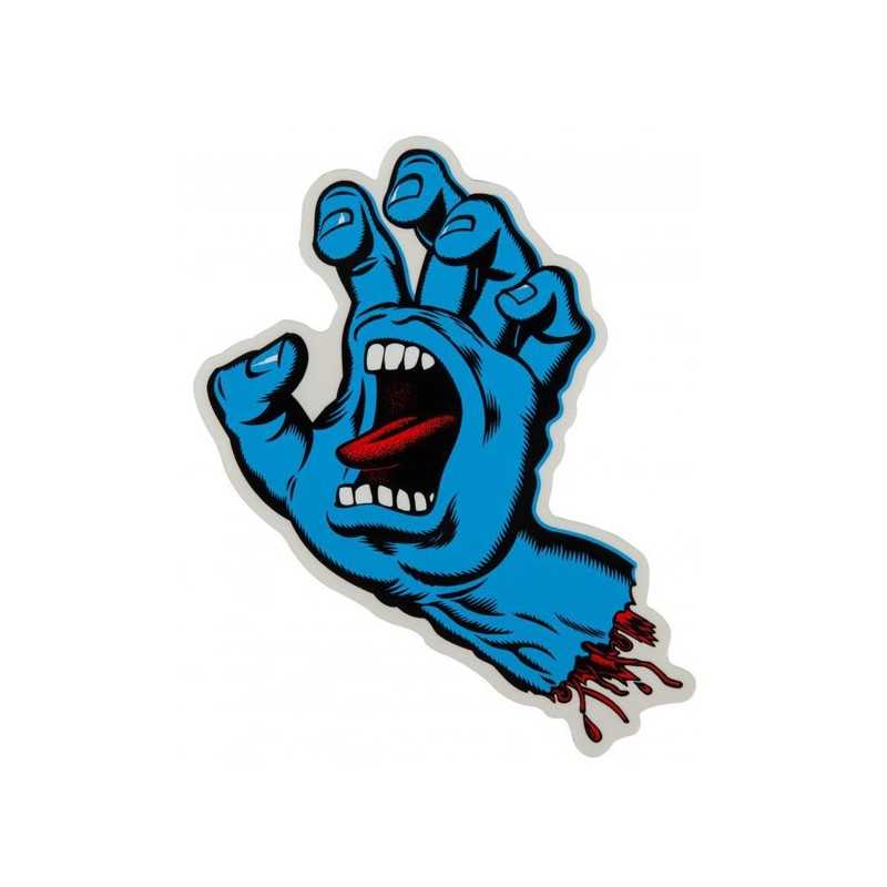 "Santa Cruz Screaming Hand 6"" Autocollant"