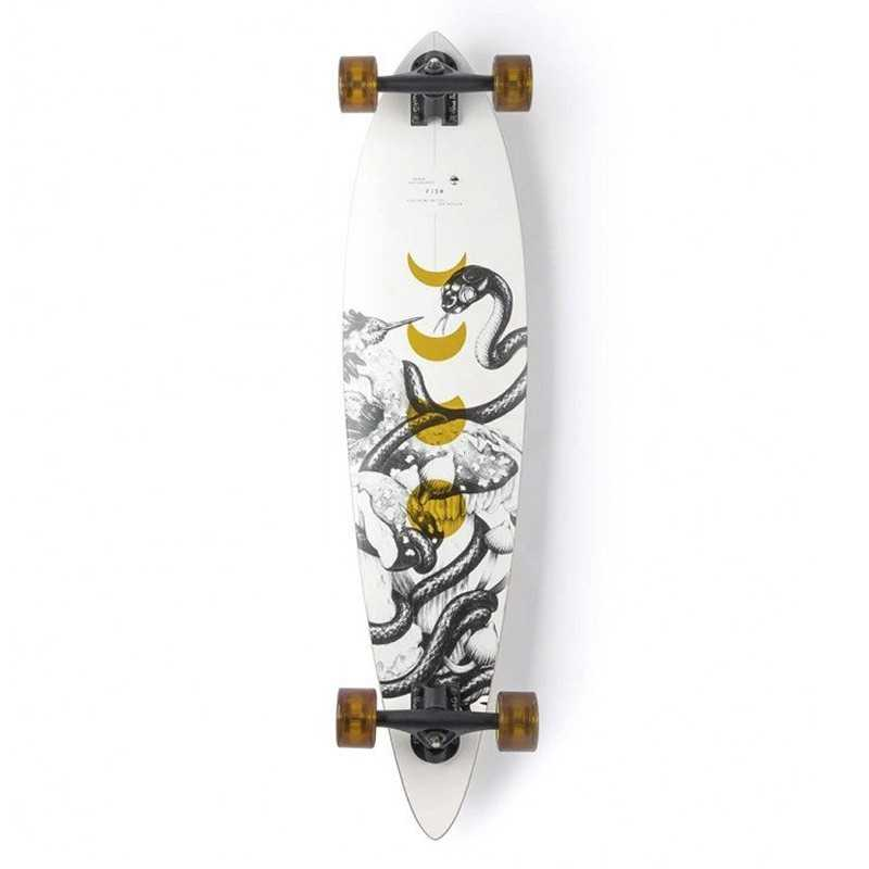 """Arbor Fish 37"""" Bamboo Longboard Complet"""