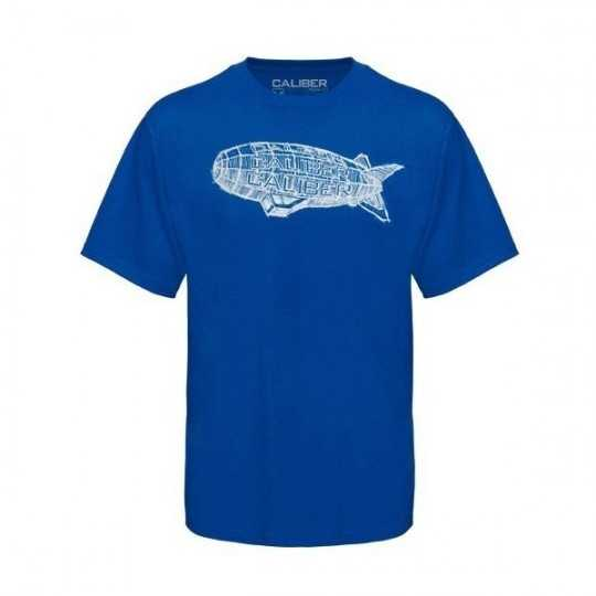 "Caliber T-Shirt ""Blimp"" Bleu"