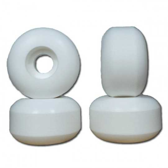 Nudes 54mm White Skateboard...