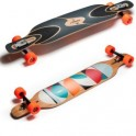 Loaded Dervish sama flex2 Color spots Longboard complete