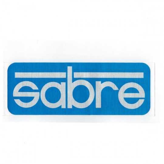 Sabre sticker Logo Foil 16.5cm