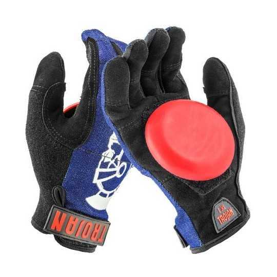 Venom Trojan Denim Disaster Blue Slide gloves