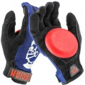 Venom Trojan Denim Disaster Blue gants Slides