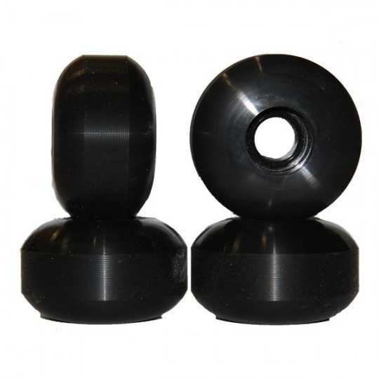 Nudes 56mm Black Skateboard...