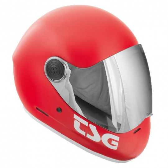 TSG Pass Rouge Satin Casque...