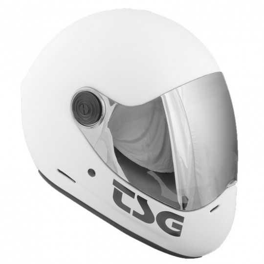 TSG Pass Blanc Satin Casque longboard