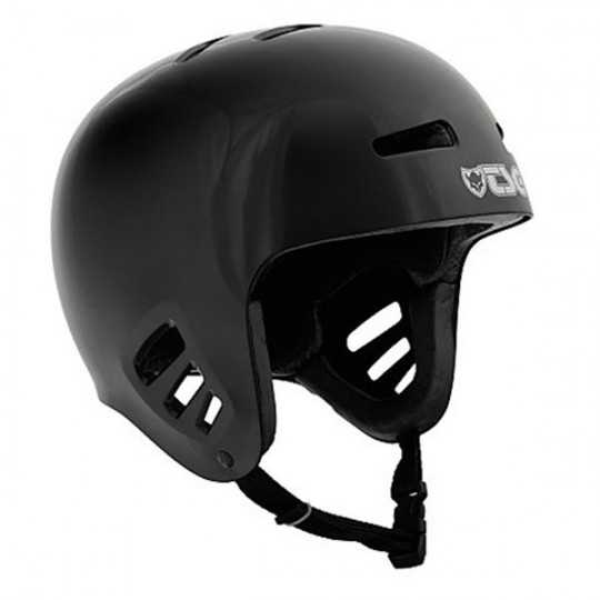TSG Dawn Solid Black Casque...
