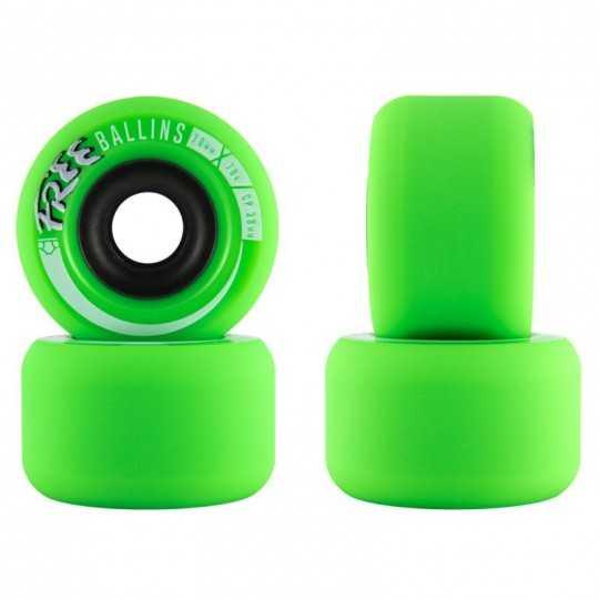Free Wheel Ballins 70mm Roues longboard