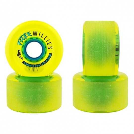 Free Wheel Willies V2 Roues longboard