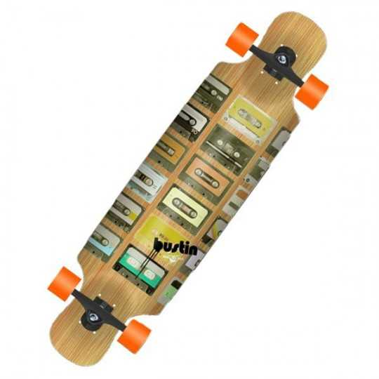 Bustin Boombox Bamboo X Longboard complet
