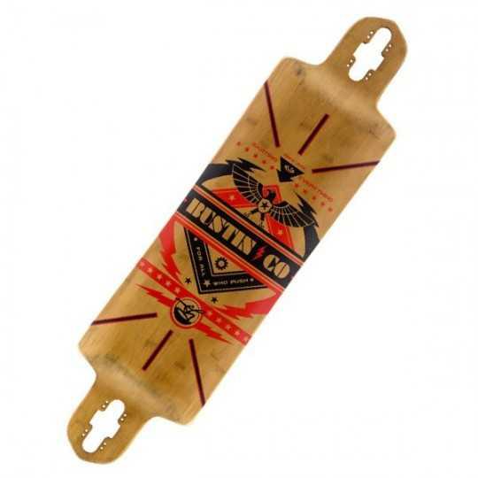 Bustin Ibach Bamboo X Longboard deck