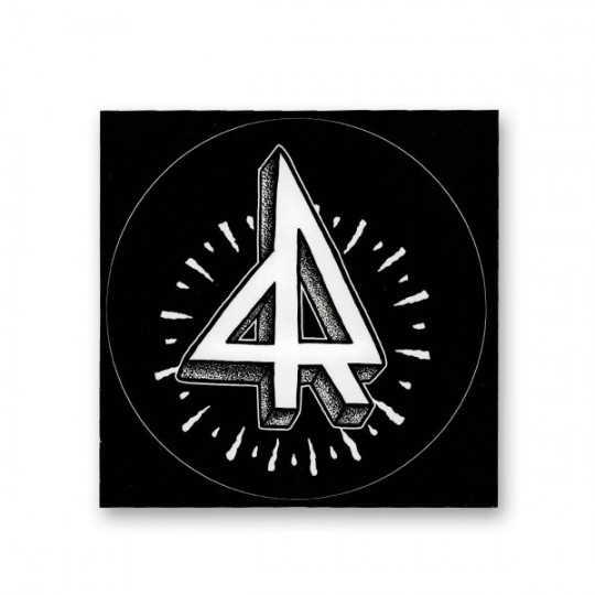 Root autocollant Logo Large