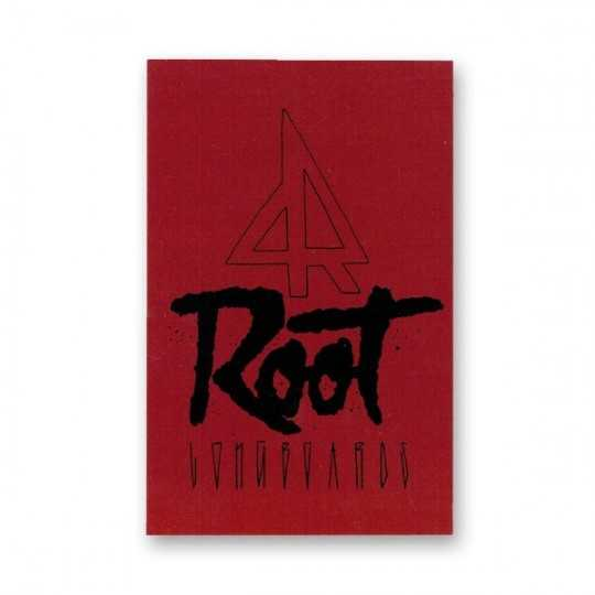 Root autocollant Rouge
