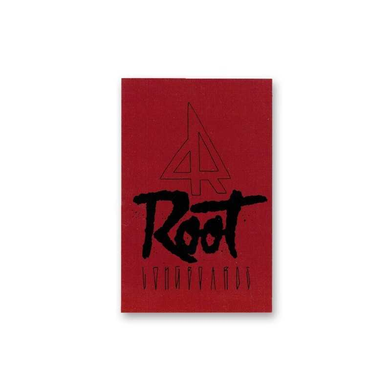 Root sticker Red