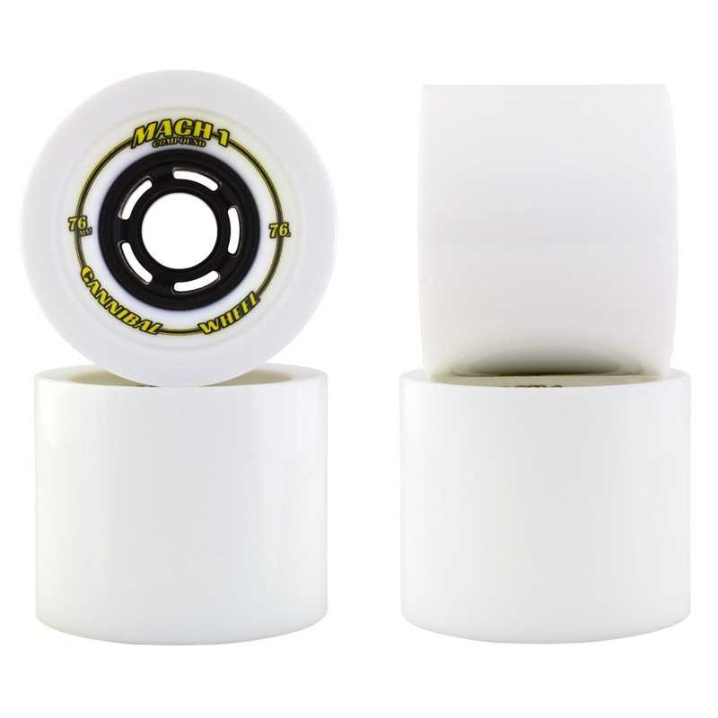 Venom Mach 1 Cannibal 76mm Longboard wheels