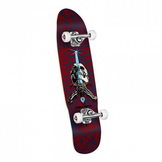 Powell Peralta Skull Sword Red Old school cruiser complet
