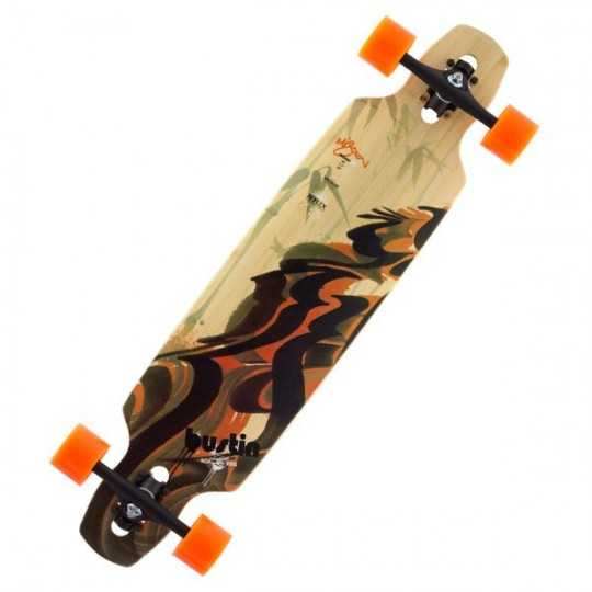 Bustin Mission 36 Dynasty Longboard complet