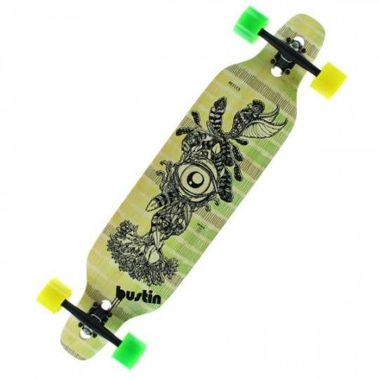 "Bustin Machete 39"" All Knowing Longboard complet"