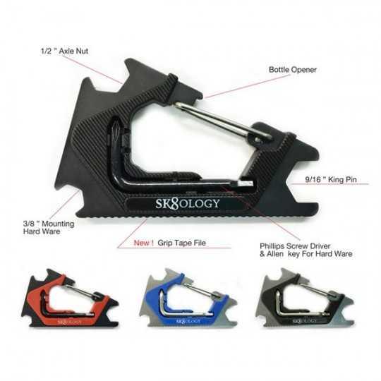 Sk8ology Carabiner Skate Tool 2.0