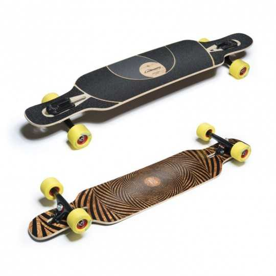Loaded Tan Tien Abstract Flex 1 Longboard Complet