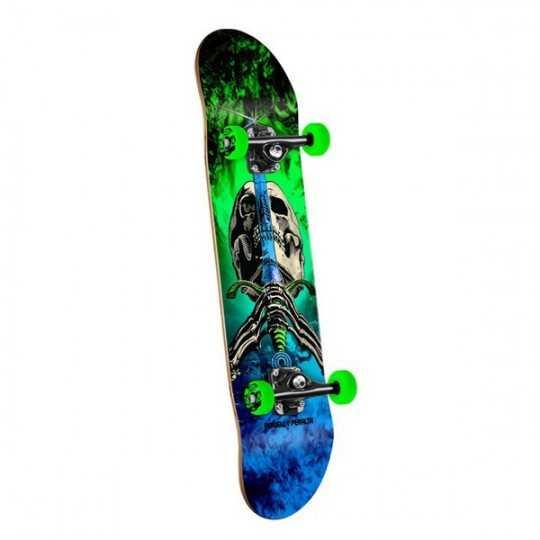 """Powell Peralta Skull & Sword Storm Green 7.88"""" Skateboard complet"""