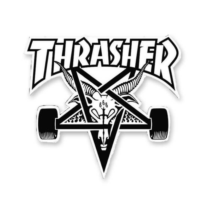 Trasher Skategoat Die Cut Sticker