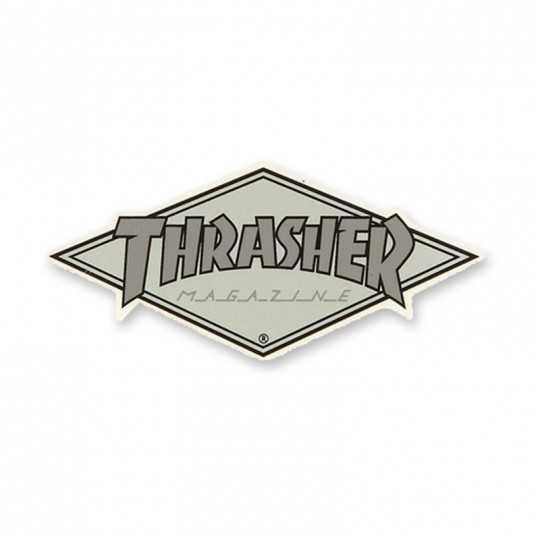 Trasher Diamond Logo Autocollant