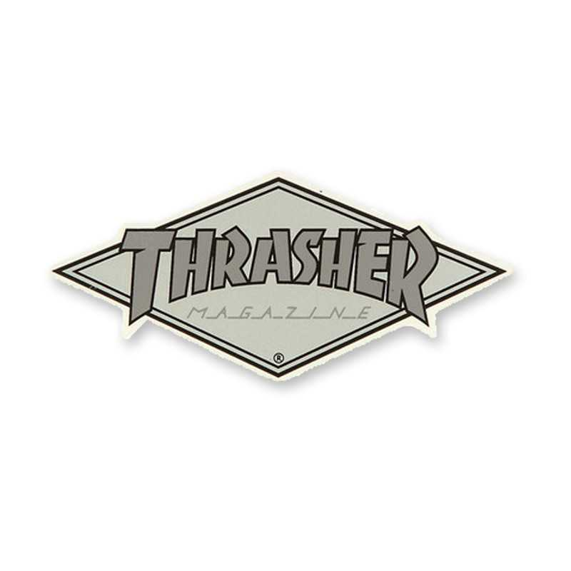 Trasher Diamond Logo Sticker
