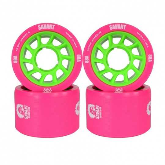 Atom Savant 58x38 Roller Derby Wheels(Set of 4)