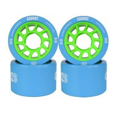 Atom Savant 58x38 Roller Derby Wheels(Set of 4)