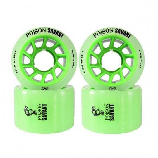 Atom Poison Savant 59x38 Roues Roller Derby(Par 4)