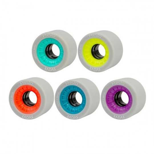 Radar Presto 59x38 Roller Derby Wheels(Set of 4)