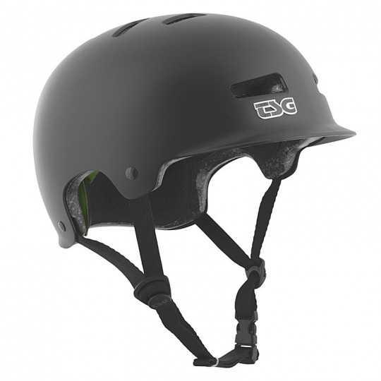 TSG Recon Solid Black Casque Skateboard & Vélo