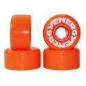 Radar Energy 62 Roller skate Wheels(Set of 4)